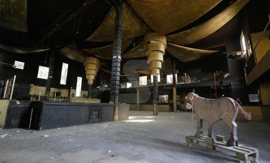 Estat en què es troba l'antiga discoteca Hill de Lleida