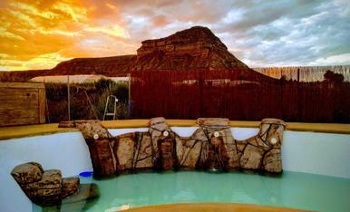 La piscina de casa