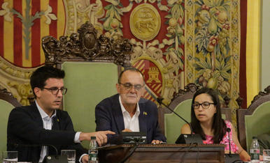 Ple del cartipàs a la Paeria de Lleida
