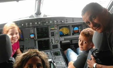 A l'avió... Rumb a Lanzarote.. Inolvidable. Marina Estrella Tarragó. Alcarràs.