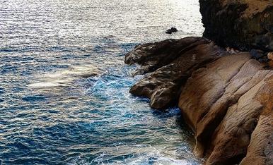 Penya-segats a Costa Adeje. Tenerife