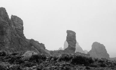 El Teide ha desaparegut. Roques de García. Tenerife