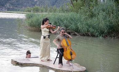 Piano flotant al Pallars Jussà
