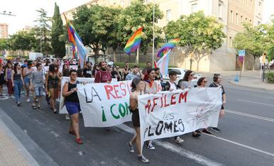 © Lleida visibiliza el orgullo LGTBIQ