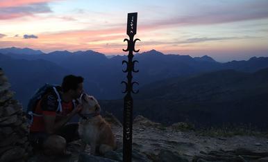 Aprofitant dies de vacances al Pirineu amb el millor soci