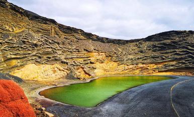 Lanzarote, El Golfo, un lloc natural de gran bellesa i protegit perquè puguem gaudir