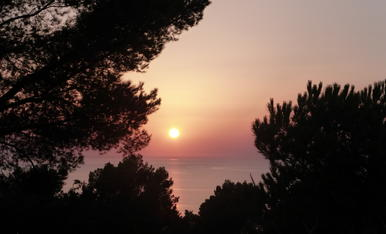 Per mi, la millor posta de sol de Mallorca.