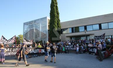© Protestas por la Nova Tracjusa