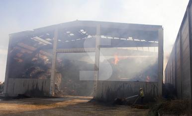 © Cremen tones de palla a Sant Ramon