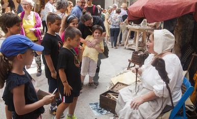 © Guimerà s'omple a l'edat mitjana