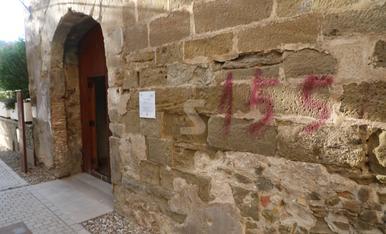 © Vandalismo en favor del 155