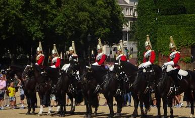 canvi de la guàrdia, a Londres