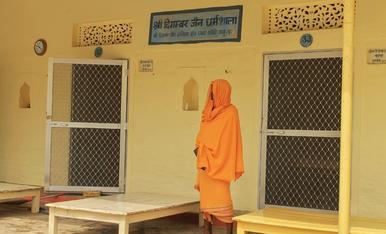 Després de la meditació a l'Ashram