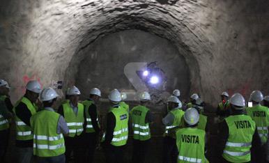 © La llum al final del túnel de Tres Ponts