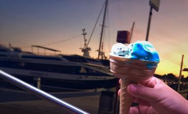 El gelat que fa tremolar les vacances més quotidianes