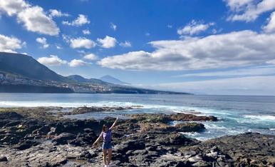 I el Teide de fons (Tenerife, 2019)