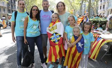 La manifestación en Barcelona