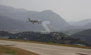 © Probando el GPS de aterrizaje en La Seu