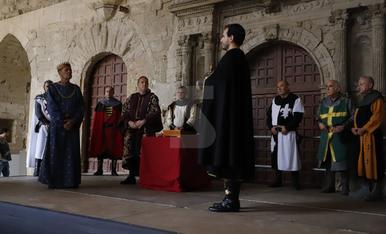 Representació del casament entre Peronella d'Aragó i Ramon Berenguer IV