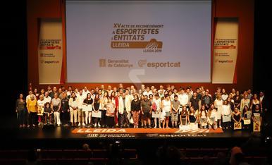 © Els millors esportistes de Lleida