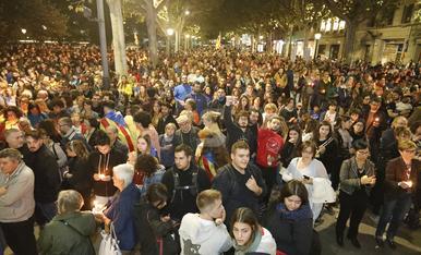 © Lleida clama contra la sentència