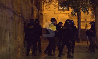 Nit d'aldarulls a Lleida