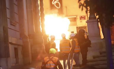 Aldarulls a Lleida el 18-O