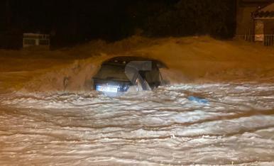 Pluges torrencials al pla de Lleida