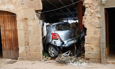 El desastre després del temporal a l'Albi