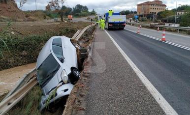 Lluvias torrenciales en el llano de Lleida