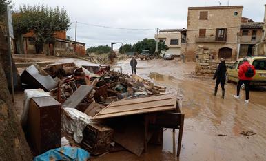 L'endemà del desastre del temporal al pla de Lleida