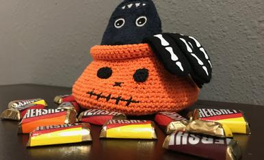 Fem Halloween amb ganxet