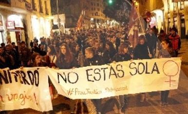 © Indignació per la sentència de La Manada de Manresa
