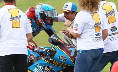 Àlex Márquez, campeón de Moto 2