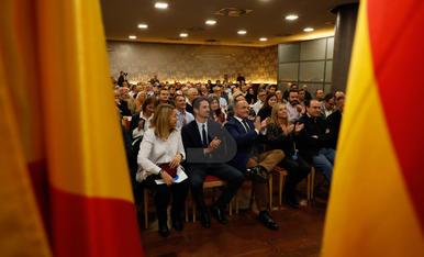 Acte de campanya del PP a Lleida