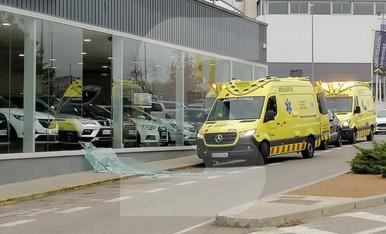 © Arrolla sin querer a un vendedor de coches en Cappont