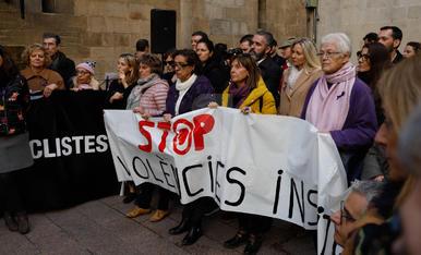 Acte institucional a Lleida del Dia internacional contra la violència masclista