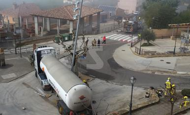 © Accident amb fuita de gas a Talarn