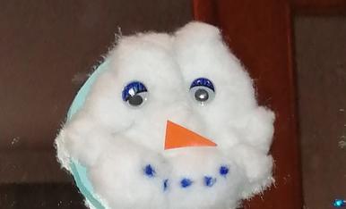 Que bonic li ha quedat el ninot de neu al meu fill de 4 anys!
