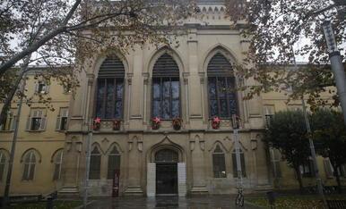 L'edifici del Rectorat de la Universitat de Lleida.