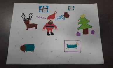 El millor Nadal!!. Núria 7 anys.