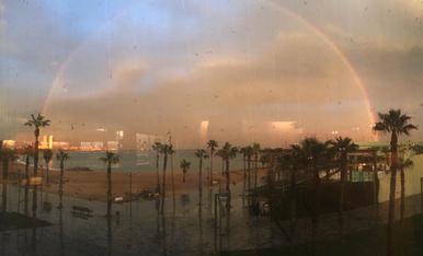 L' arc de san marti despres de la tempesta