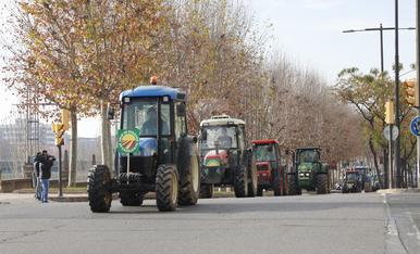 © Tractorada en defensa de la fruta