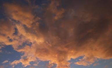 Aquest cel d'hivern despres d'una pluja.   VIKTORIIA HAVIADA