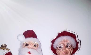 Pare i Mare Noel. Una parella entranyable d'aquest Nadal