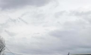 El vent va tombar la tanca perimetral a les instal·lacions de l'AEM.
