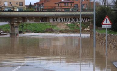 El temporal Glòria a les terres de Lleida