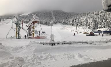 © Nieve para asegurar la temporada