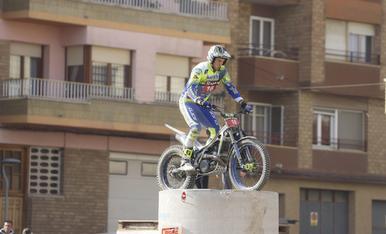 Campionat d'Espanya de trial a Aitona