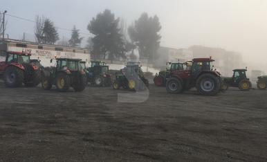 Tractorada a Lleida en defensa del camp